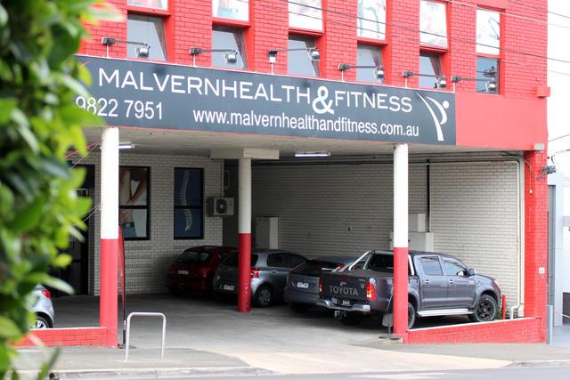 Malvern Fittness Front